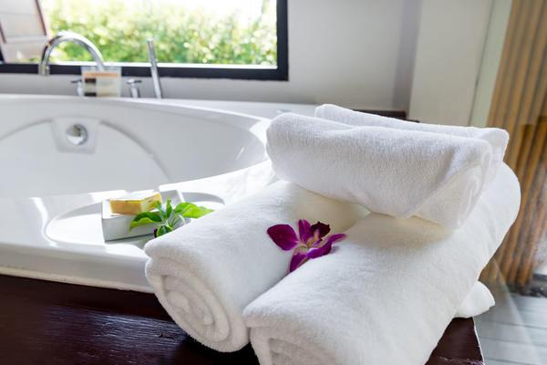 酒店衛浴布草地墊地巾