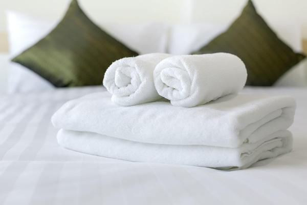 酒店客房布草面巾